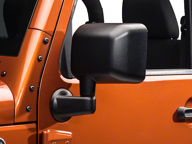 OPR Replacement Mirror; Driver Side (07-18 Jeep Wrangler JK)