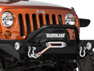 Barricade Winch Cover (87-18 Jeep Wrangler YJ