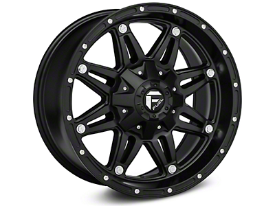 Fuel Wheels Hostage Matte Black Wheel - 18x9 (07-18 Wrangler JK)