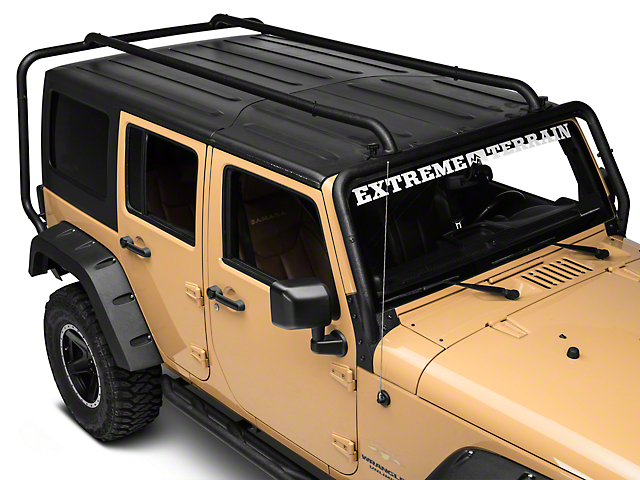 Rugged Ridge Sherpa Roof Rack 07 18 Wrangler Jk 4 Door