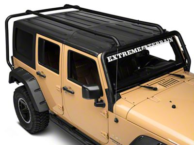Rugged Ridge Jeep Wrangler Sherpa Roof Rack 11703 02 07 18 Jeep Wrangler Jk 4 Door