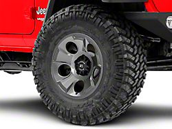Rugged Ridge Drakon Gunmetal Gray Wheel; 17x9 (18-20 Jeep Wrangler JL)