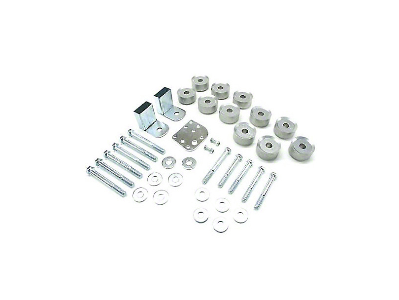 Teraflex 1 in. Body Lift Kit w/o Shocks (97-06 Jeep Wrangler TJ)