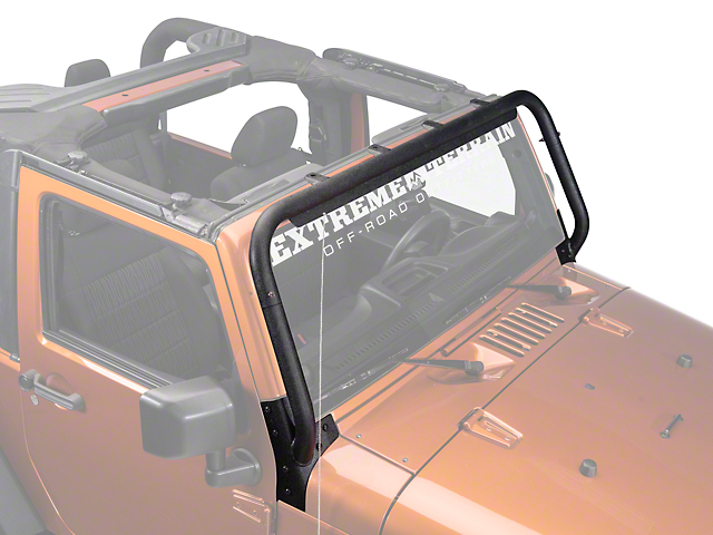 Barricade Windshield Light Mount (07-18 Jeep Wrangler JK)