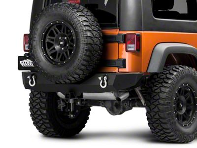 Barricade Trail Force HD Rear Bumper (07-18 Jeep Wrangler JK)