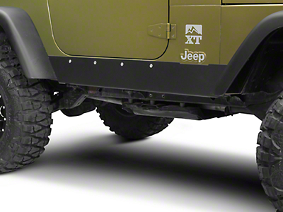 Barricade Rocker Guards (97-06 Wrangler TJ, Excluding Unlimited)