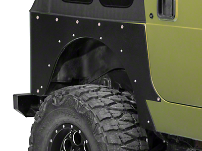 Barricade Corner Guard (97-06 Jeep Wrangler TJ, Excluding Unlimited)