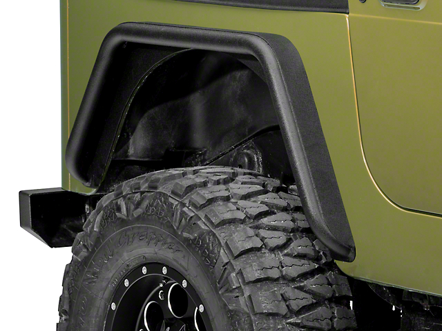 Jeep Fender Well : Barricade jeep wrangler rear fenders j