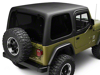 Rally Tops 1-Piece Hardtop for Half Doors (97-06 Wrangler TJ)