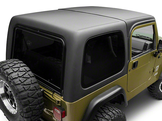 Rally Tops Two Piece Hardtop for Full Doors (97-06 Wrangler TJ)