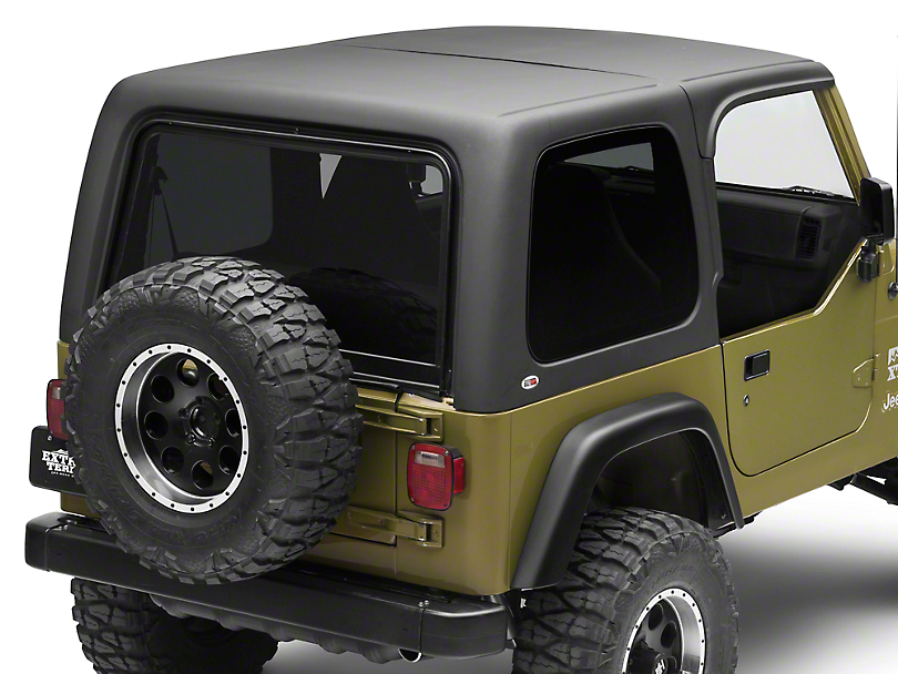 Rally Tops Two Piece Hardtop for Half Doors (97-06 Wrangler TJ)