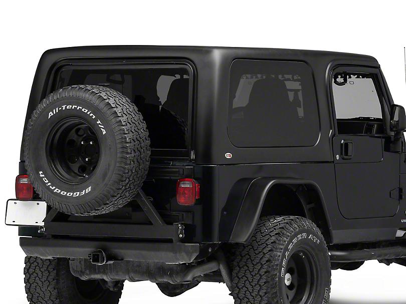 Rally Tops 1-Piece Hardtop For Full Doors (04-06 Wrangler TJ Unlimited)