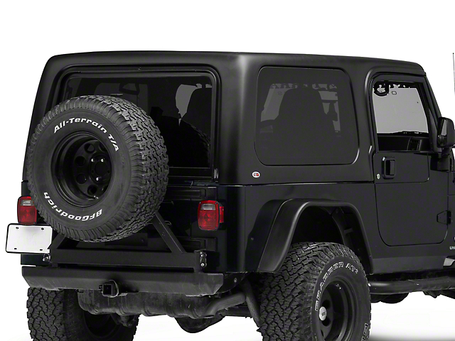 One-Piece Hard Top for Full Doors (04-06 Jeep Wrangler TJ Unlimited)