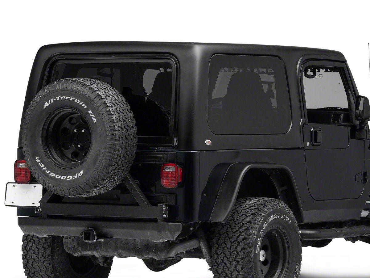 Wrangler Hard Top >> 1 Piece Hardtop For Full Doors 04 06 Jeep Wrangler Tj Unlimited