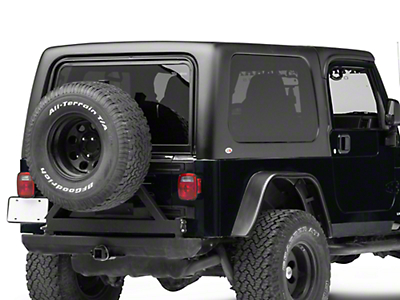Rally Tops 2-Piece Hardtop For Full Doors (04-06 Jeep Wrangler TJ Unlimited)