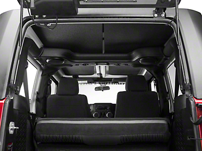 Boom Mat Sound Deadening Headliner - Black (11-18 Jeep Wrangler JK 2 Door)