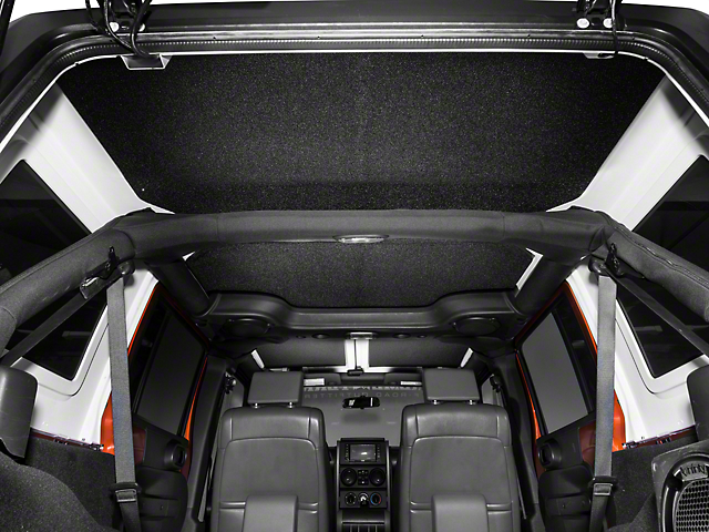 Boom Mat Sound Deadening Headliner - Black (07-10 Wrangler JK 4 Door)