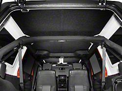 Boom Mat Sound Deadening Headliner; Black (07-10 Jeep Wrangler JK 4-Door)