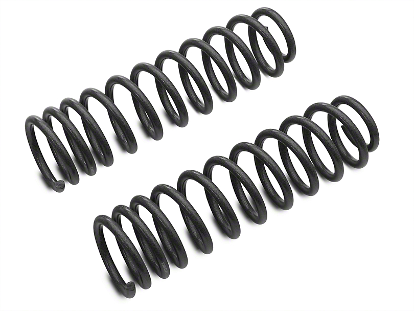 Tuff Country 4 in. Lift Coil Springs - Front (97-06 Jeep Wrangler TJ)