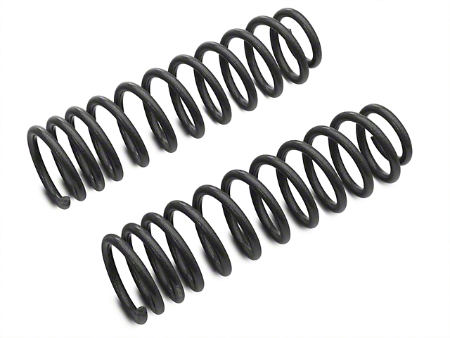 Tuff Country 4 Inch Lift Coil Springs; Front (97-06 Jeep Wrangler TJ)