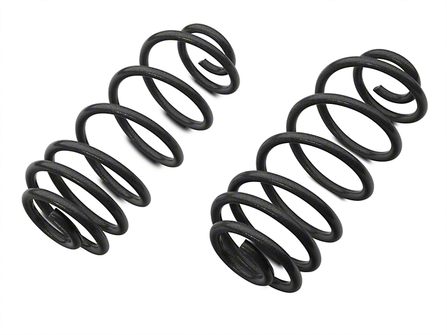 Tuff Country 4 Inch Lift Coil Springs; Rear (97-06 Jeep Wrangler TJ)