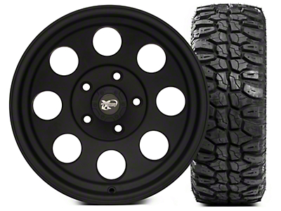 Pro Comp Alloy Series 7069 15x8 Wheel & Extreme M/T 33x12.5x15 Tire Kit (87-06 Jeep Wrangler YJ & TJ)