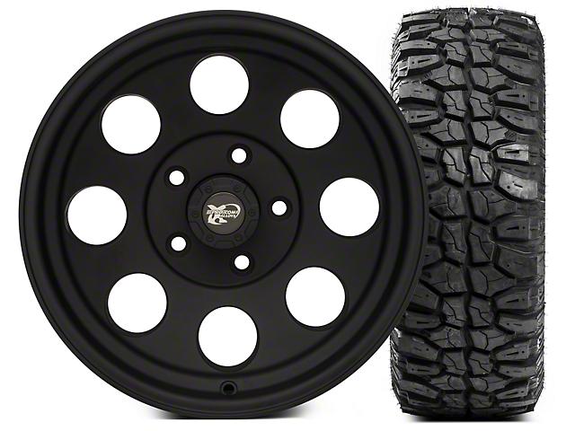 Pro Comp Wheels Alloy Series 7069 15x8 Wheel & Extreme M/T 35x12.5x15 Tire Kit (87-06 Jeep Wrangler YJ & TJ)