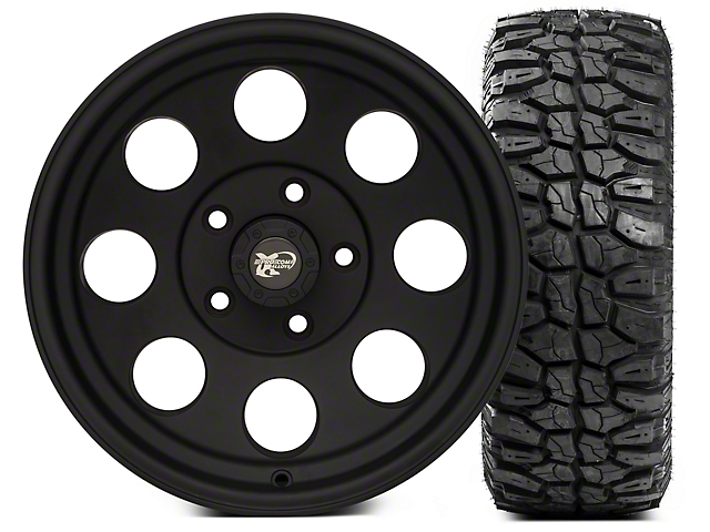 Pro Comp Wheels Alloy Series 7069 16x8 Wheel; and Extreme M/T 285/75/16 Kit (07-18 Jeep Wrangler JK)