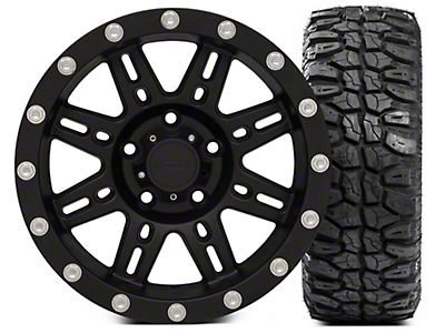 Pro Comp Alloy Series 7031 16x8 Wheel - and Extreme M/T 285/75/16 Kit (07-18 Wrangler JK)