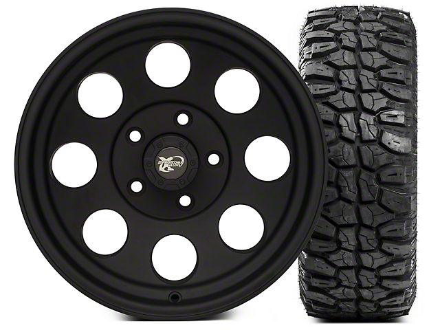 Pro Comp Wheels Alloy Series 7069 16x8 Wheel; and Extreme M/T 315/75/16 Kit (07-18 Jeep Wrangler JK)