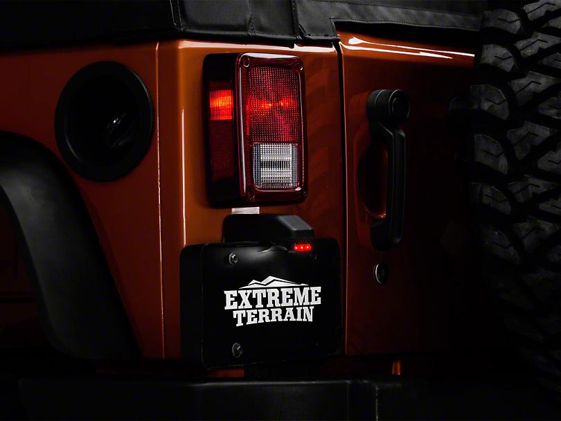 LED License Plate Light w/ 12 in. Leads (87-18 Jeep Wrangler YJ, TJ, JK & JL)