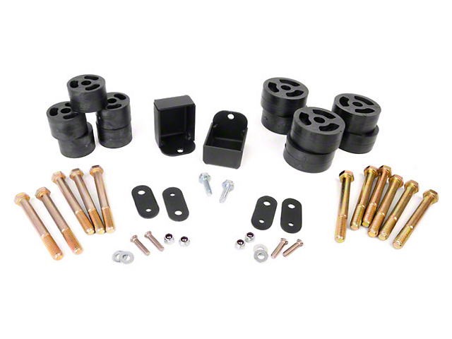 Rough Country 1.25-Inch Body Lift Kit (87-95 Jeep Wrangler YJ w/Manual Transmission)