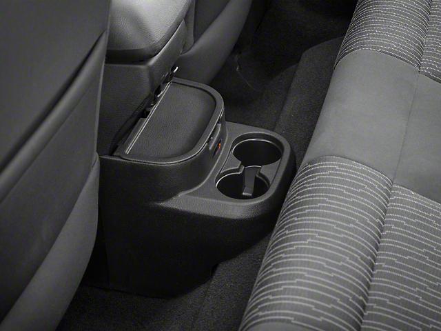 Rugged Ridge Rear Seat Organizer; Black (11-18 Jeep Wrangler JK 2 Door)