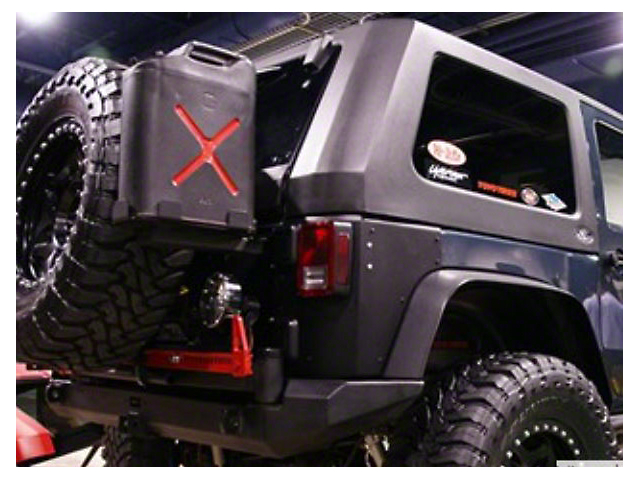 Wild Boar Fastback Top (07-18 Jeep Wrangler JK 2 Door)