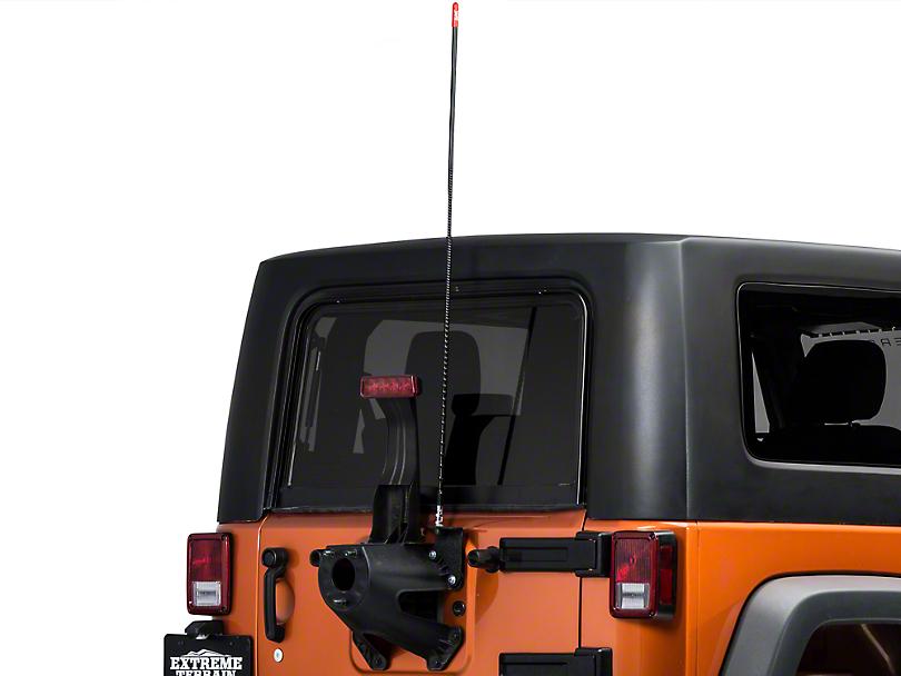 Firestik CB Antenna - 4 ft. (87-18 Jeep Wrangler YJ, TJ, JK & JL)