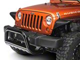 Barricade 3 in. Bull Bar w/ Skid Plate - Gloss Black (07-09 Jeep Wrangler JK)
