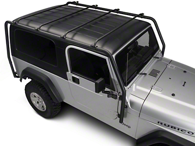Barricade Roof Rack - Textured Black (04-06 Wrangler TJ Unlimited)