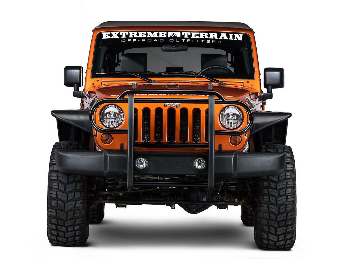for Jeep Wrangler JK 2007-2018 Stainless RedRock 4x4 Non-Locking Fuel Door