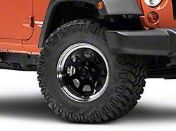 Mammoth 8 Aluminum Black Wheel - 17x9 (07-18 Jeep Wrangler JK)