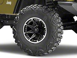 Mammoth Type 88 Black Wheel - 15x8 (87-06 Jeep Wrangler YJ & TJ)