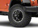 Mammoth Type 88 Black Wheel; 16x8 (07-18 Jeep Wrangler JK)