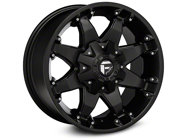 fuel wheels jeep wrangler octane matte black wheel 17x8. Black Bedroom Furniture Sets. Home Design Ideas