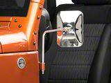 Barricade Adventure Stainless Steel Mirrors - Pair (87-20 Jeep Wrangler YJ, TJ, JK & JL)