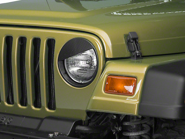 RedRock 4x4 Angry Eyes Headlight Conversion (97-06 Wrangler TJ)