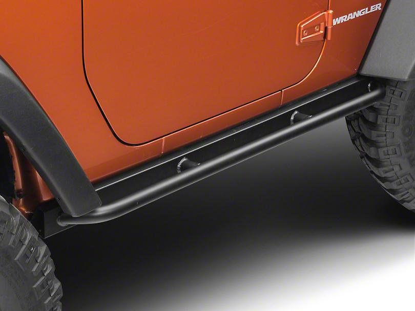 Barricade Enhanced Rubi Rails - Textured Black (07-18 Wrangler JK 2 Door)