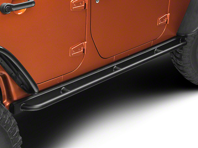 Barricade Enhanced Rubi Rails - Textured Black (07-18 Jeep Wrangler JK 4 Door)