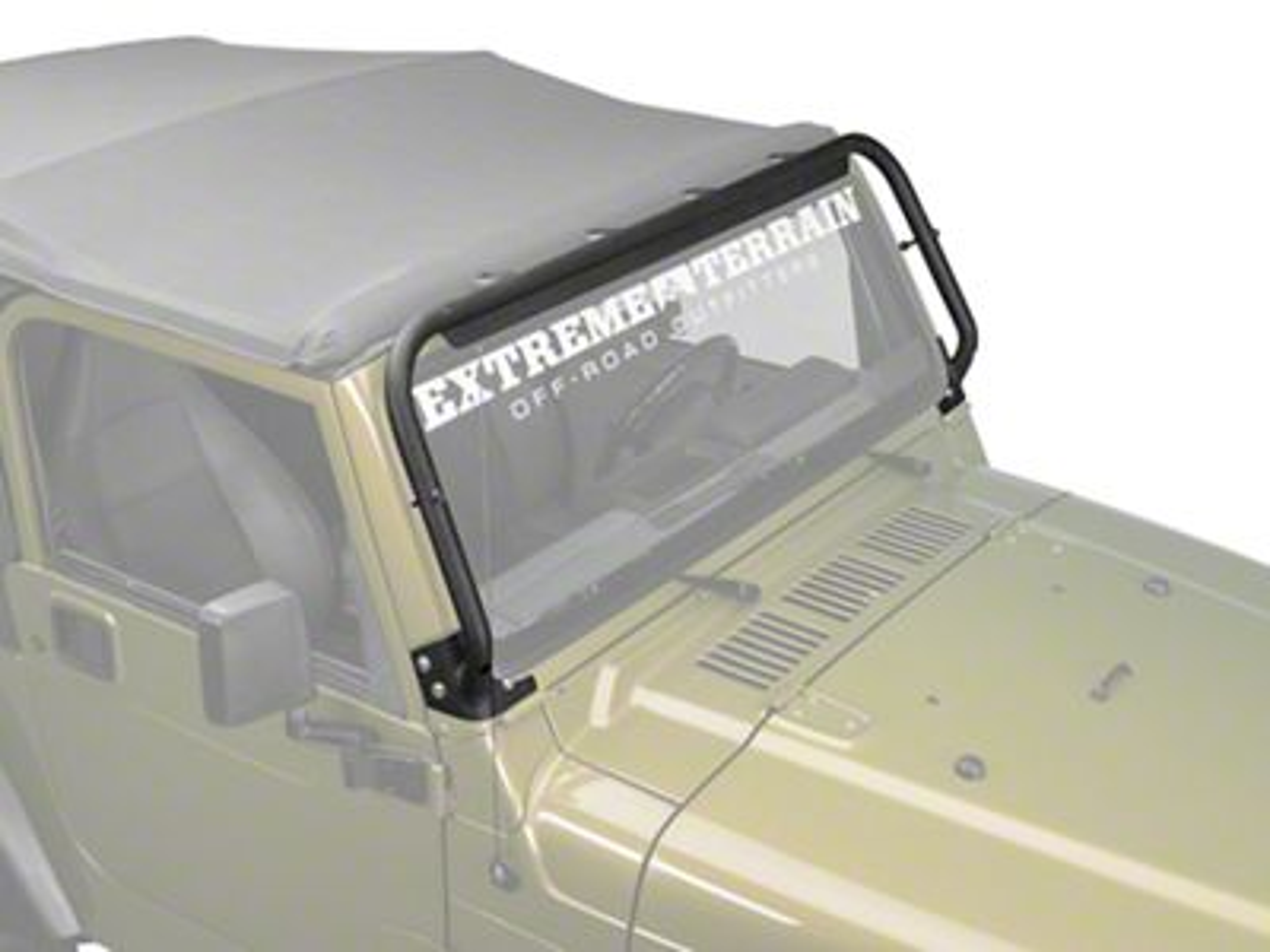 Barricade Light Bar - Textured Black (97-06 Jeep Wrangler TJ)