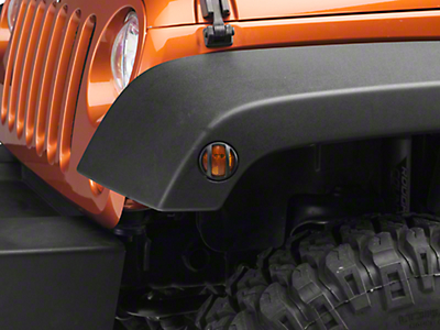 Barricade Side Marker Guard - Textured Black (07-18 Jeep Wrangler JK)
