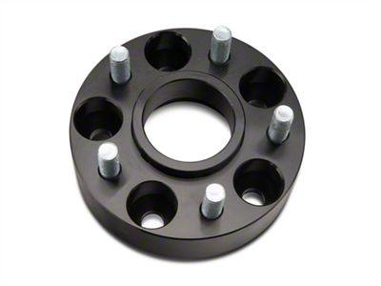 RedRock 4x4 1.5 in. Wheel Spacers - Black - 5x4.5 Bolt Pattern (87-06 Jeep Wrangler YJ & TJ)