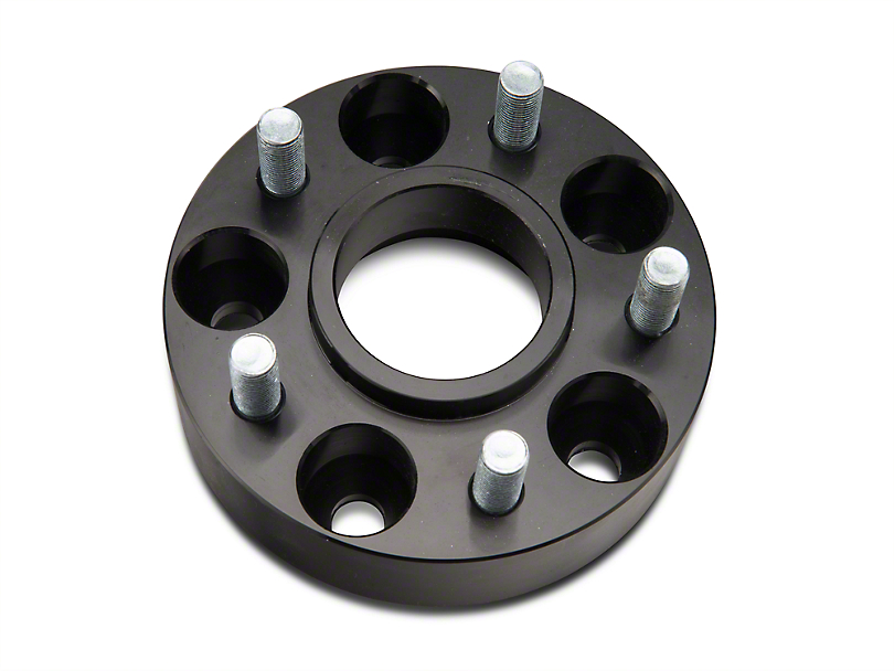 RedRock 4x4 1.5 in. Wheel Spacers - Black - 5x4.5 Bolt Pattern (87-06 Jeep Wrangler YJ & TJ)